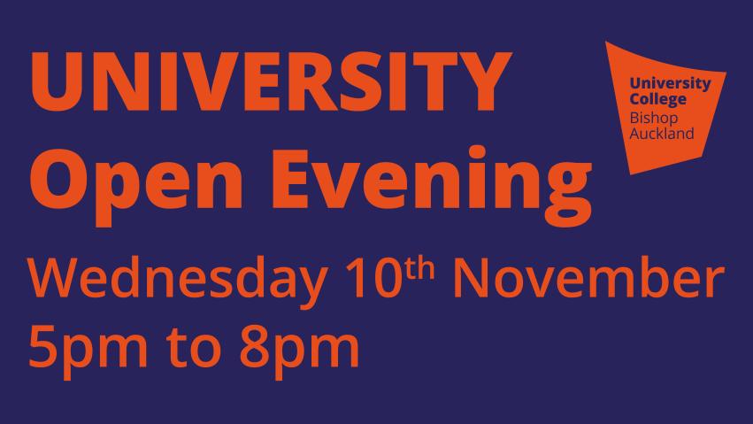 University open evening