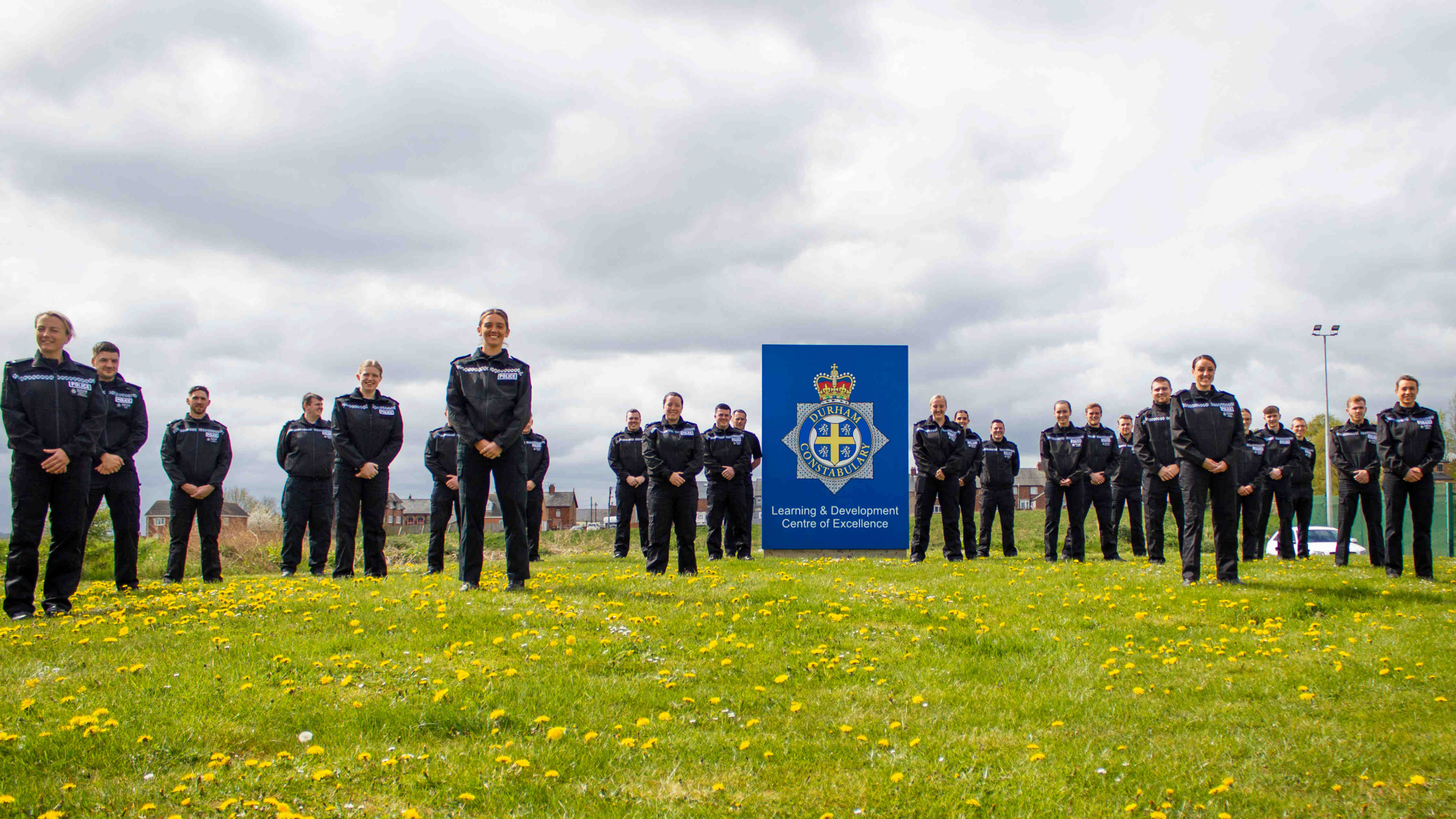 Two dozen new recruits at Durham Constabulary last year