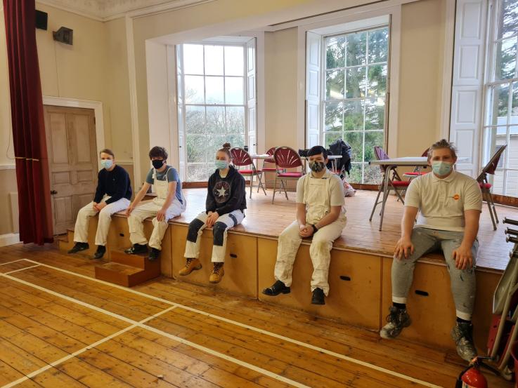 Stanhope Community Hall group shot